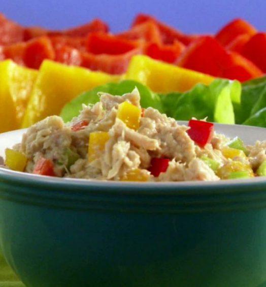 Lite Veggie Tuna Salad