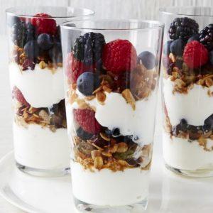 Fruit & Yogurt Parfait w/ Granola